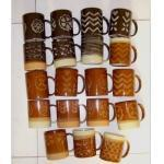 Buy cheap Stoneware Brown Coffee Mug (MUG101032) from wholesalers