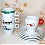 Buy cheap Porcelain Cup and Saucer With Logo, Espresso Set (CNS05212) product