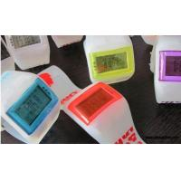 Buy cheap ALK-WS048 seven color lights LED silicone watch from wholesalers