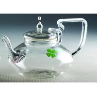 Buy cheap Heat resistant glass tea pot from wholesalers