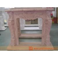 Buy cheap Stone Fireplace - Red Sandstone from wholesalers