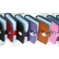 LEATHER ACCESSORIES name card holder 40012