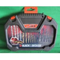 Buy cheap Black and Decker 30 Piece Titanium Drilling and Screwdriver Bit Accessory Set 25.00 from wholesalers