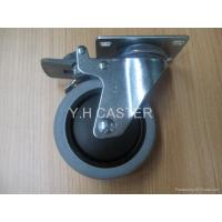 Buy cheap ESD TPR wheel CASTER 10e3-10e5 NON-marking from wholesalers
