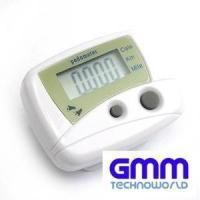Buy cheap Pedometer with Belt Clip, Calorie, Kilometer, Miles Step Counter from wholesalers