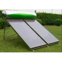 Buy cheap Compact Pressurized Flat Pannel Solar system from wholesalers