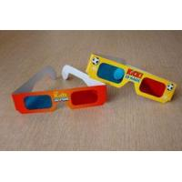Buy cheap 3D Glasses red-cyan paper glassses CB101 from wholesalers