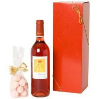 Buy cheap Wine and Champagne Rose Wine and Pink Truffles product