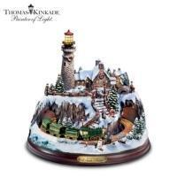 Buy cheap Thomas Kinkade A Seaside Christmas FigurineModel # CT1400120001 from wholesalers
