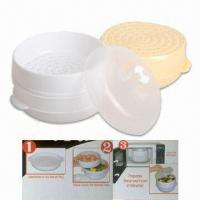 Buy cheap Two-Tier Microwave Steamer Made of Plastic from wholesalers