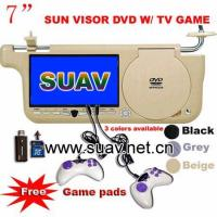 Buy cheap SunVisor DVD Video Games Player,TV/USB/SD/MMC/MS Slot from wholesalers