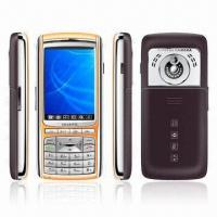 Dual SIM and Tri-band Mobile Phone with Camera, MP3/MP4 Players, Bluetooth, Touch Panel and Speaker
