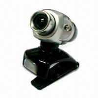 Buy cheap USB Web Cam with 300K Pixels CMOS Sensor for NB/LCD/PC and Night Vision Infrared LED from wholesalers