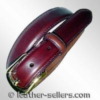 China Small Leather Goods Leather Belt with Bit Design. on sale