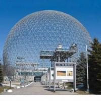 Architectural Hemispherical Dome Roof Building with ETFE Membrane Structure or Glass Covers