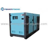 Buy cheap 125 Kva Water Cooled Diesel Silent Generator Set 3 Phase With DCEC Engine from wholesalers