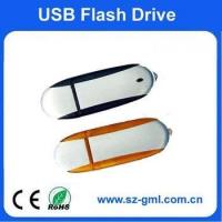 Buy cheap 1GB plastic with alluminum usb flash drive with customized logo from wholesalers