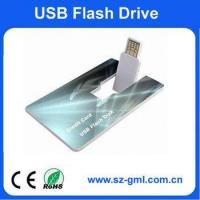 Buy cheap 1GB name card usb flash drive with customized logo product