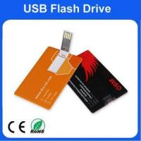 Buy cheap Capacity from 1GB to 32GB for name card usb flash drive with customized logo from wholesalers