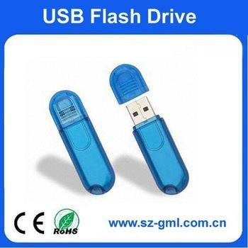 Quality 16GB plastic small round head usb flash drive with customized logo for sale