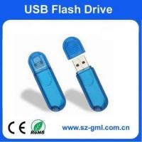 Buy cheap 16GB plastic small round head usb flash drive with customized logo from wholesalers