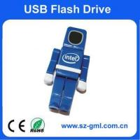 Buy cheap 8GB plastic robot USB flash Drive product
