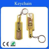Buy cheap PVC wine bottle keychain can accept customized logo product