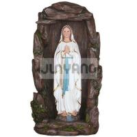 "Buy cheap Christmas 15"" Lourdes in Cave Item No.: YLD035G-15L product"
