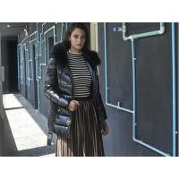 Buy cheap Casual Stylish Leather Jacket For Women from wholesalers