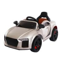 Buy cheap Leather seat baby battery car kids ride on toy electric car from wholesalers