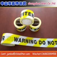 Buy cheap Warning tape WT008 from wholesalers