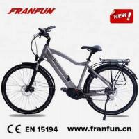 Buy cheap Mid drive electric bike 2017 hidden battery electric mountain bike mid drive racing bike from wholesalers
