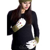 Buy cheap Embroidered Garden Alpaca Gloves from wholesalers