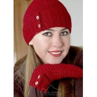 Buy cheap Sophia Button Alpaca Hat from wholesalers