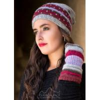 Buy cheap Justin Striped Alpaca Hat from wholesalers