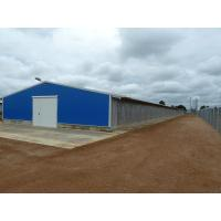 Buy cheap Poultry House Prefabricated Open Steel Structure Poultry House from wholesalers