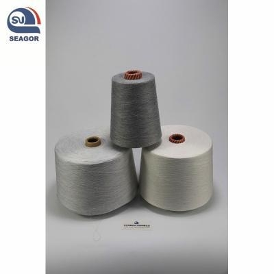 Buy cheap Silver Lurex Fabric Metallic Yarn Composition of Lurex Yarn Silver Coated Metal Yarn from wholesalers