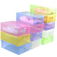 Buy cheap Plastic Packing Box PP clear shoe box from wholesalers