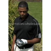 Buy cheap adidas ClimaLite3-Stripe Cuff Polo from wholesalers
