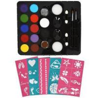 Buy cheap Best Kids Water Color Face Painting Stencils set from wholesalers
