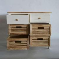 Buy cheap Wooden Cabinet 6 Drawer Cabinet Stoving Varnish from wholesalers