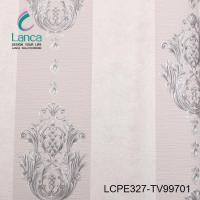 China WALLPAPER classical damask wallpaper patterns LCPE327-TV99709 on sale