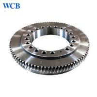 Buy cheap Factory Price Small Hydraulic Slew Drive Worm Gear Slewing Ring Bearing for Solar Tracker System from wholesalers