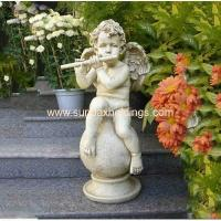 Buy cheap Garden Series SF28712A- Musical Garden Resin Large Angel Statue from wholesalers