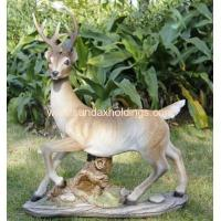 Buy cheap Garden Series SF12172-1 realist animal poly deer statue garden ornament product