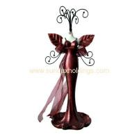 Buy cheap Promotion Gifts PJ1002- Customize Resin Lady Figurine Jewelry Holder from wholesalers