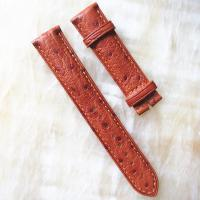 Buy cheap Exotic Skin Watch Strap genuine ostrich leather watch band from wholesalers