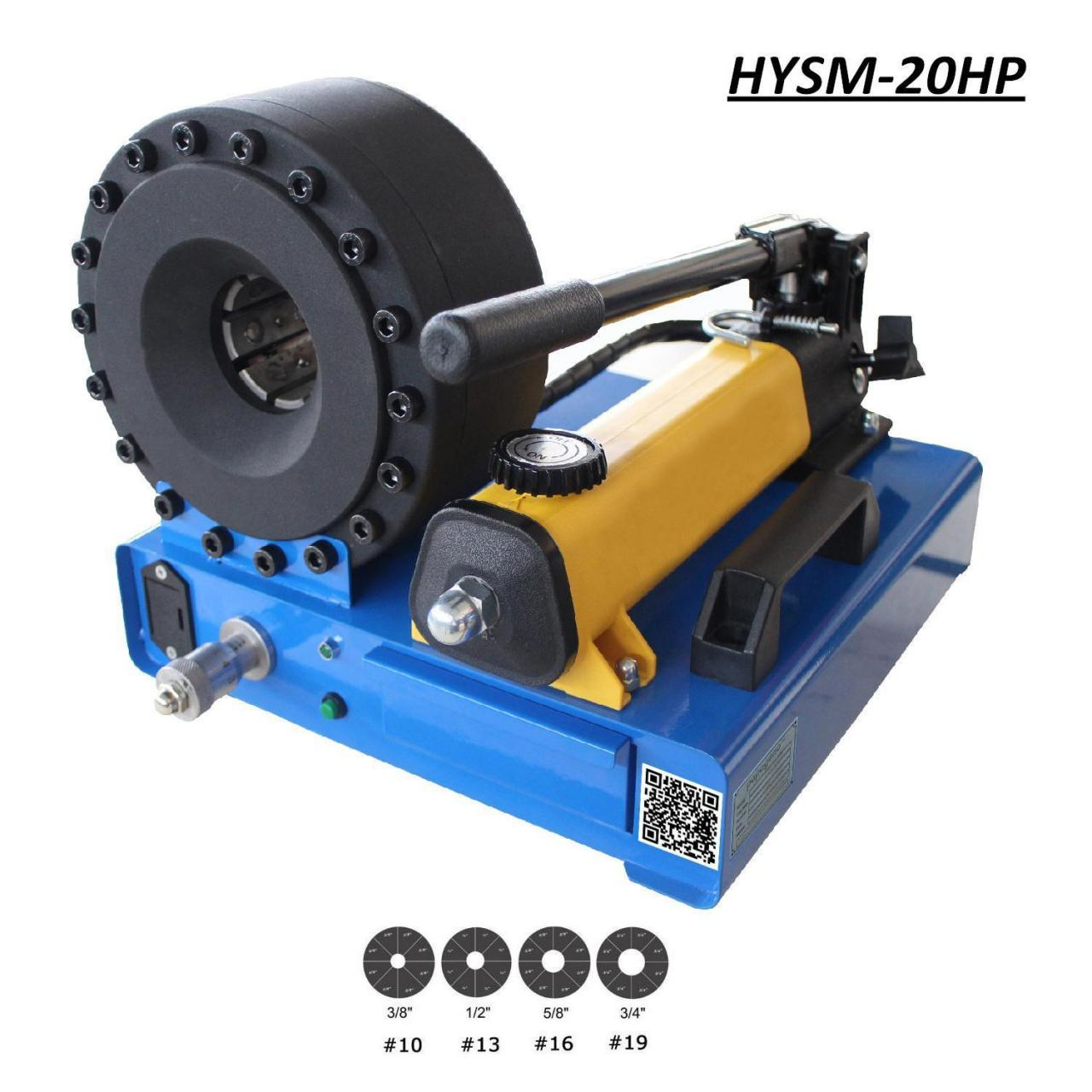 China Portable/ Hand pump / Manual Hose Crimper on sale