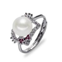 Buy cheap Animal shape 925 sterling silver real freshwater pearl ring from wholesalers