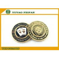 Buy cheap Antique Engraved Texas Holdem Poker Chips Casino Poker Chip Sets from wholesalers
